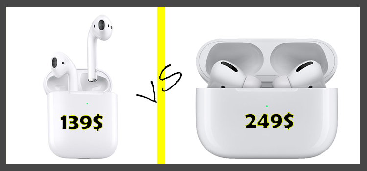 apple airpods vs apple airpods pro available on shop mart store amazon best shopping products