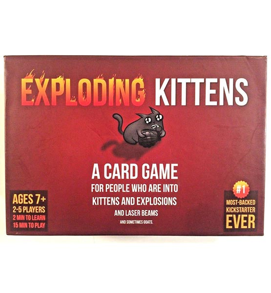 Exploding Kittens Card Game - Family-Friendly Party Games - Card Games For Adults, Teens & Kids shop mart store best amazon product online shopping website