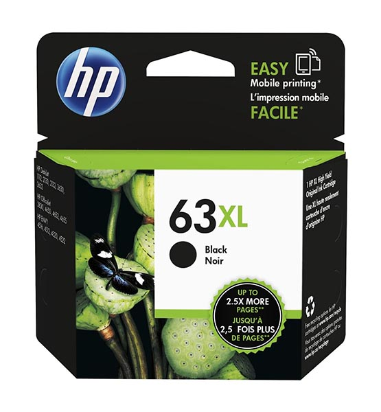 HP 63 ink cartridge HP 63XL | Ink Cartridge | Black | F6U64AN shop mart store best amazon product online shopping website